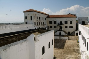 Elmina from the roof.