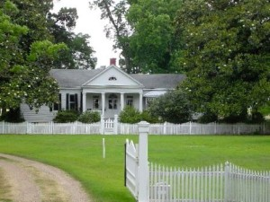 Logtown. The plantation home in Louisiana that my ancestor built.